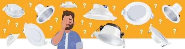 Hulp nodig bij het kiezen van de juiste down light?